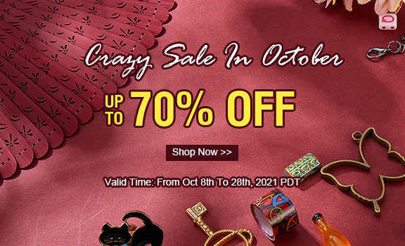 Crazy Sale In October Up To 70% OFF