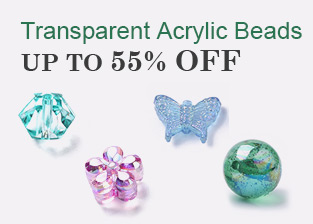 Transparent Acrylic Beads Up To 55% OFF